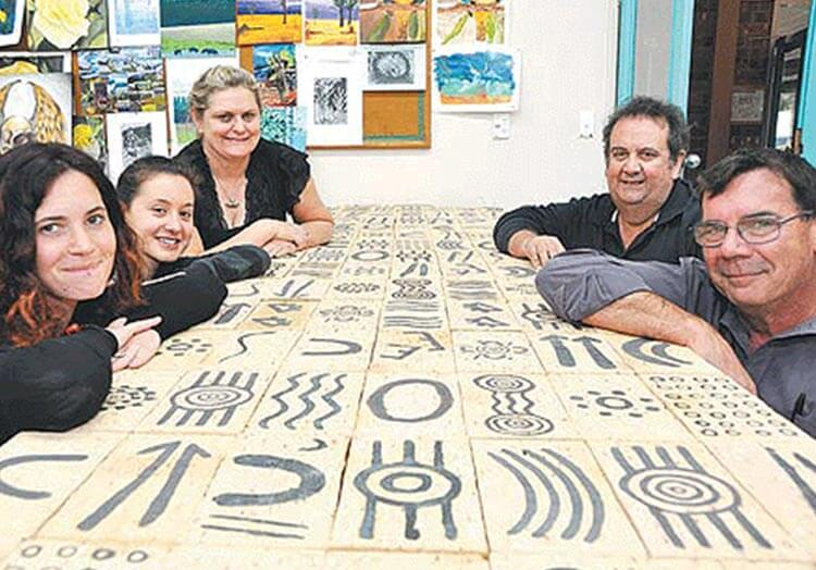 News New Park Installation A Tribute To First Inhabitants