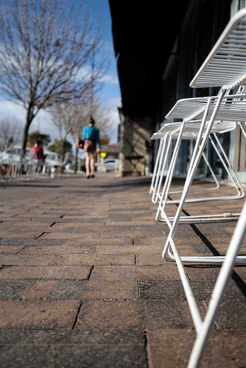 Mahogany Pavers And Chairs