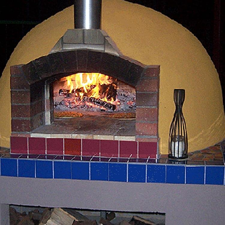 Pizza Oven Old Red 70mm Sandstock