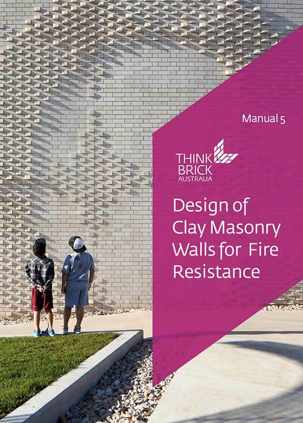 Design Of Clay Masonry For Fire Resistance