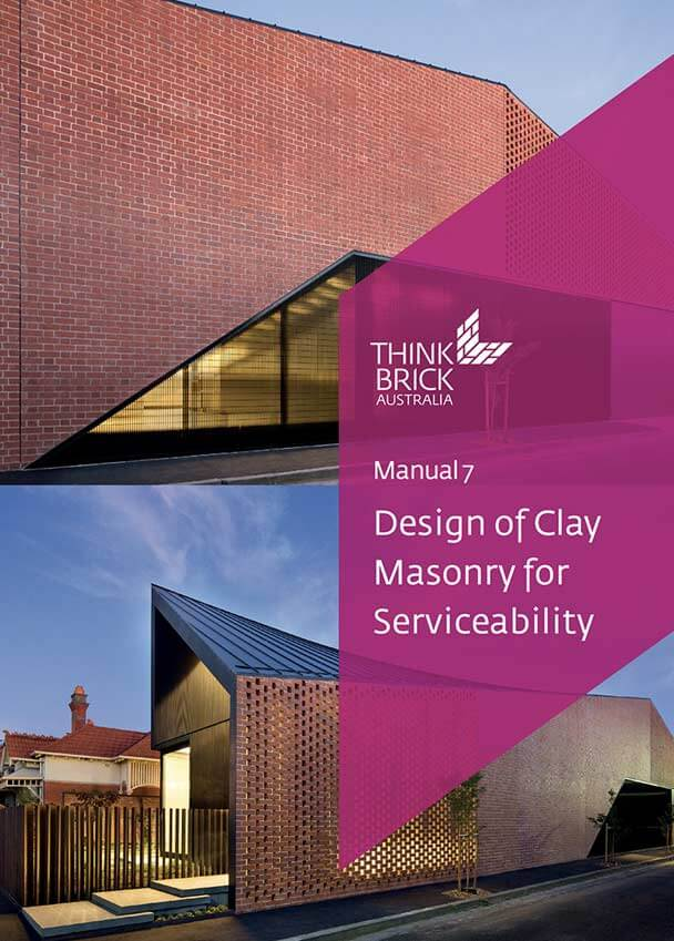 Design Of Clay Masonry For Serviceability