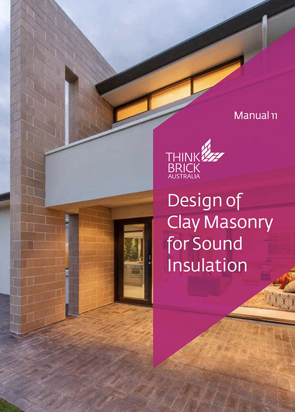 Design Of Clay Masonry For Sound Insulation