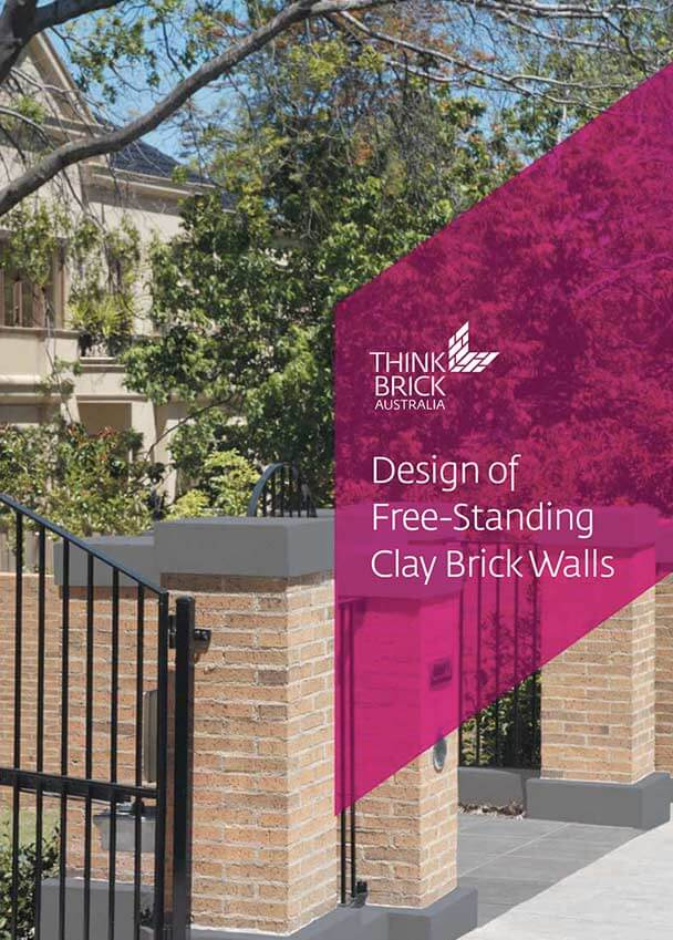 Design Of Free Standing Clay Brick Walls