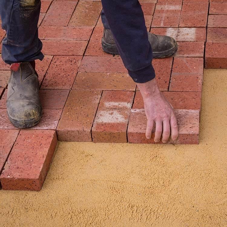 Laying Pavers Step 3 Laying Pavers