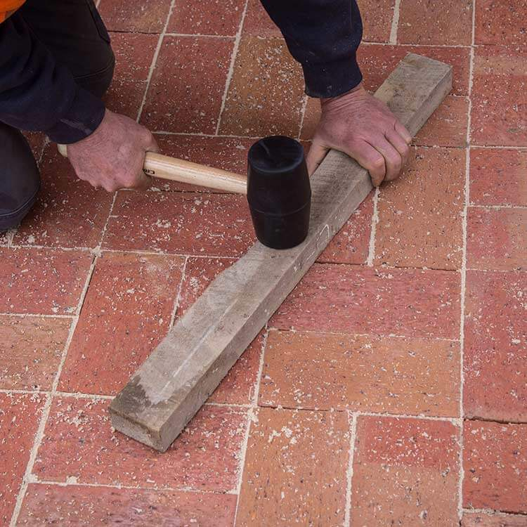 Laying Pavers Step 4 Compaction And Joint Filling