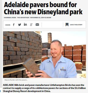 News How An Adelaide Brick Maker Is Sending Their Products To Disneyland 02