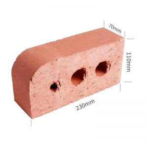 Single Bullnose Profile Shape Brick