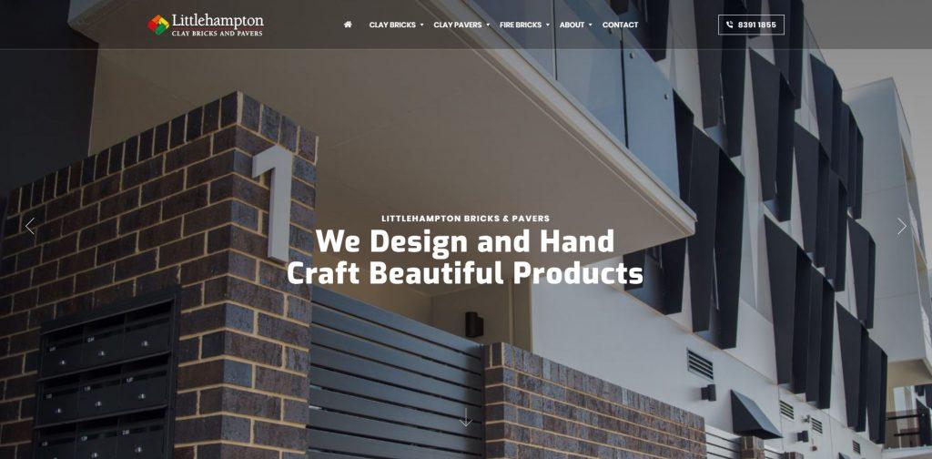 Littlehampton Brick Homepage Preview