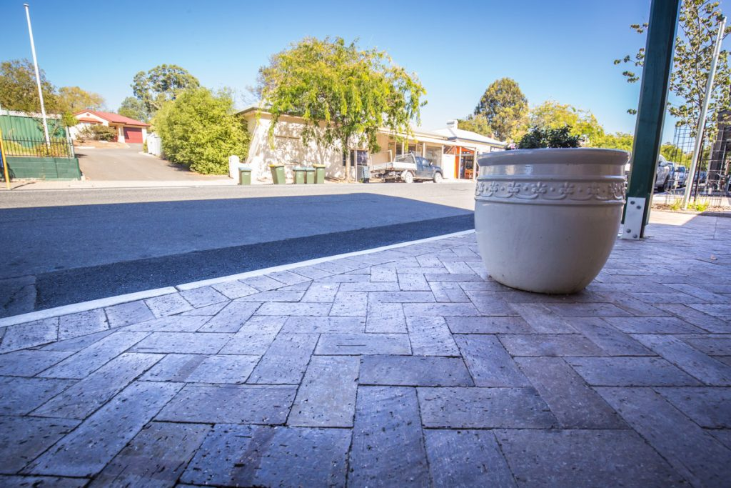 Ash Pavers - Nairne Main Street, South Australia