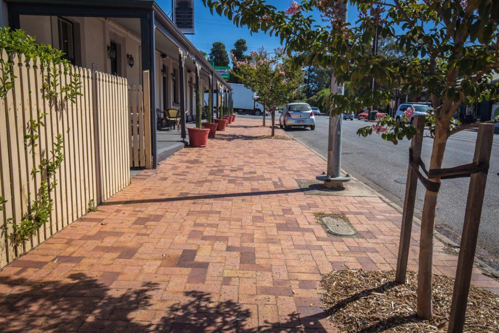 Balhannah Main Street Pavers, South Australia