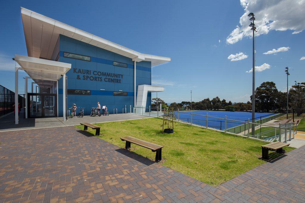 Littlehampton Bricks And Pavers Mahogany Pavers At Recreation Centre 2 Rd