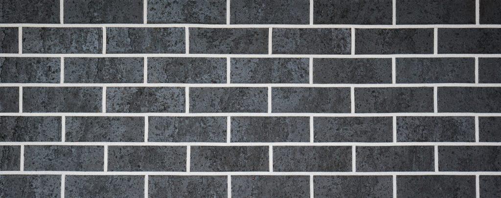 Midnight Black Brick Wall Reduced Size 11