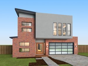 Light Cabernet House Render 2 Lighter Mortar