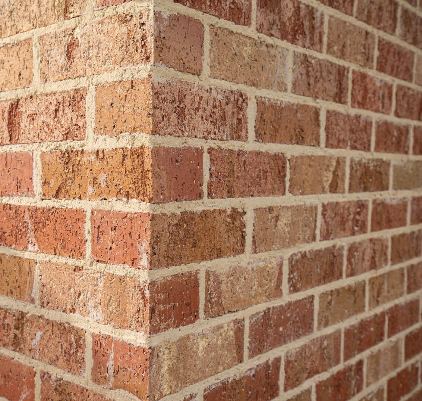 Blush Brick Wall At Dulwich Adelaide Sa Littlehampton Bricks And Pavers 3