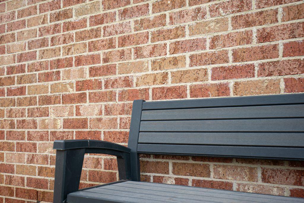 Blush Brick Wall At Dulwich Adelaide Sa Littlehampton Bricks And Pavers 7