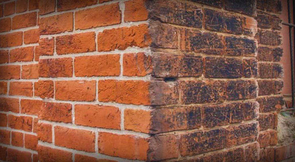 Clean brick