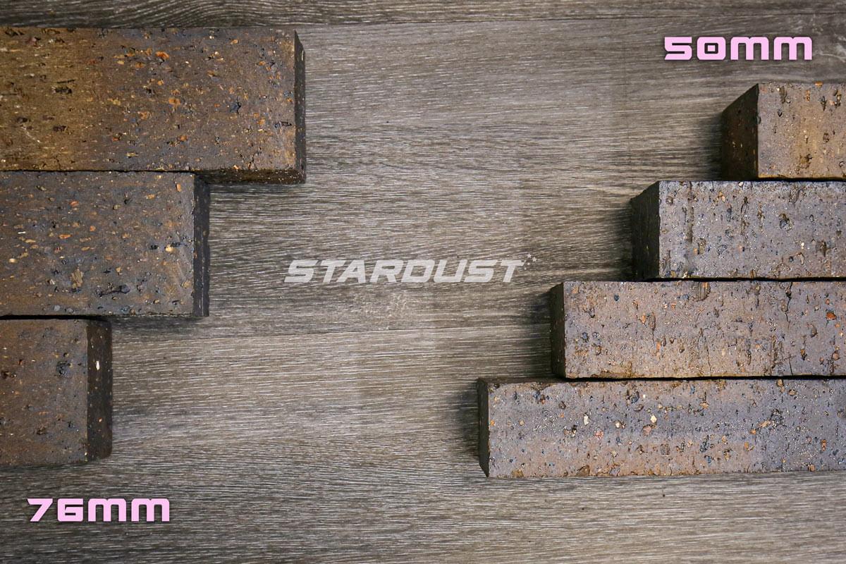 Stardust Paver Mahogany 76mm Or 50mm Littlehampton Bricks And Pavers Rs