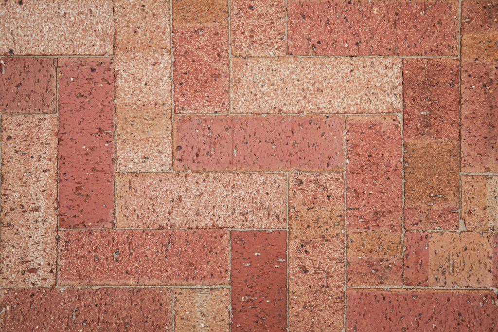 Stardust Rouge Paver 230mm X 76mm X 62mm Herringbone Pattern Littlehampton Bricks And Pavers Rs W 1 1
