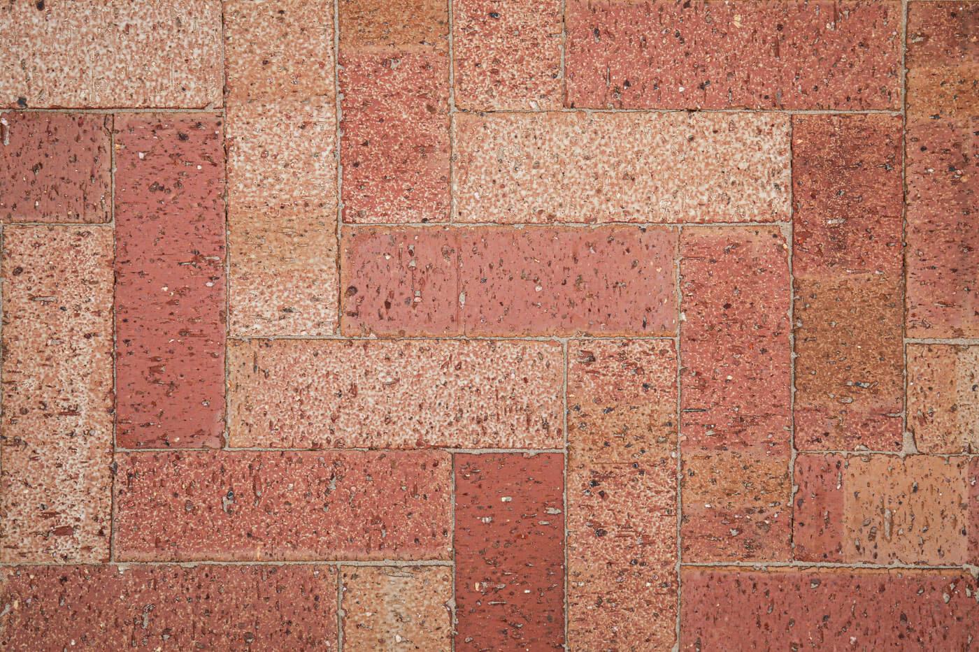 Stardust Rouge Paver 230mm X 76mm X 62mm Herringbone Pattern Littlehampton Bricks And Pavers Rs W 1