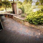 Mahogany Cobblestone Clay Pavers Littlehampton Brick Rs 10