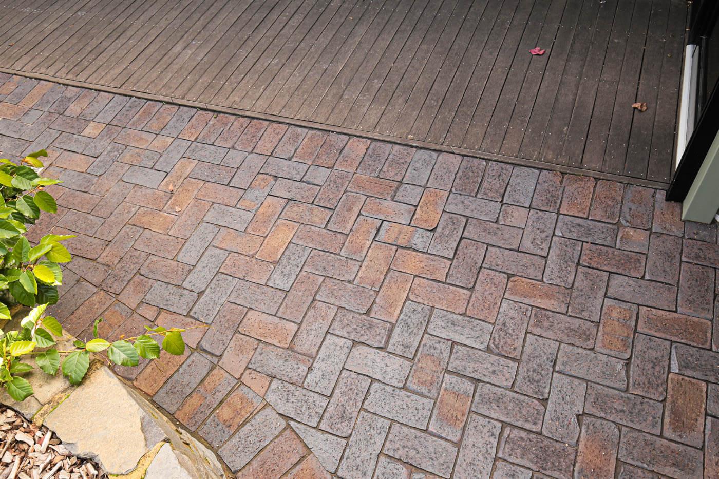 Mahogany Cobblestone Clay Pavers Littlehampton Brick Rs 12