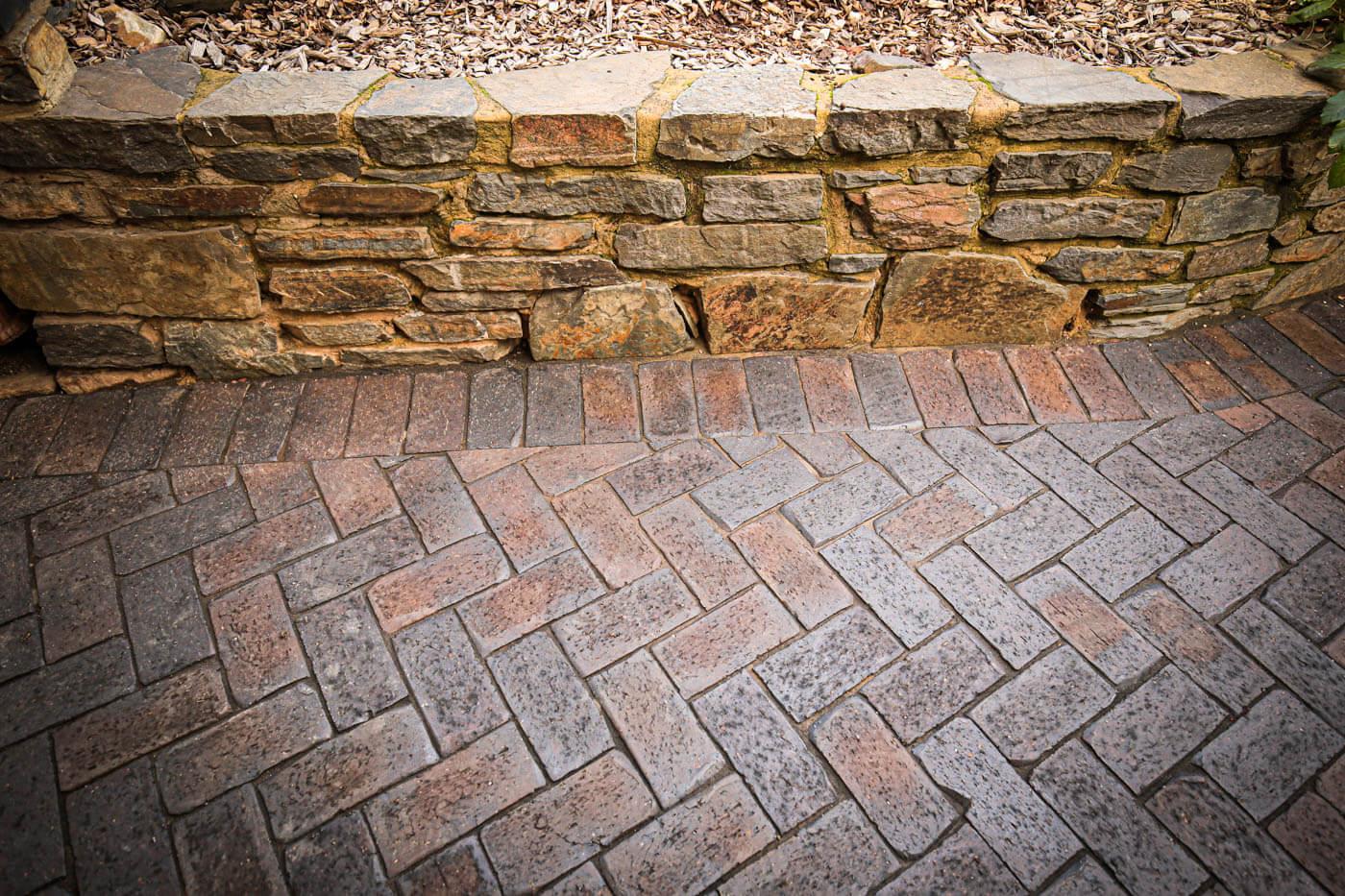 Mahogany Cobblestone Clay Pavers Littlehampton Brick Rs 4