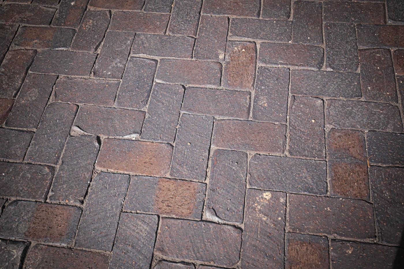 Mahogany Cobblestone Clay Pavers Littlehampton Brick Rs 7