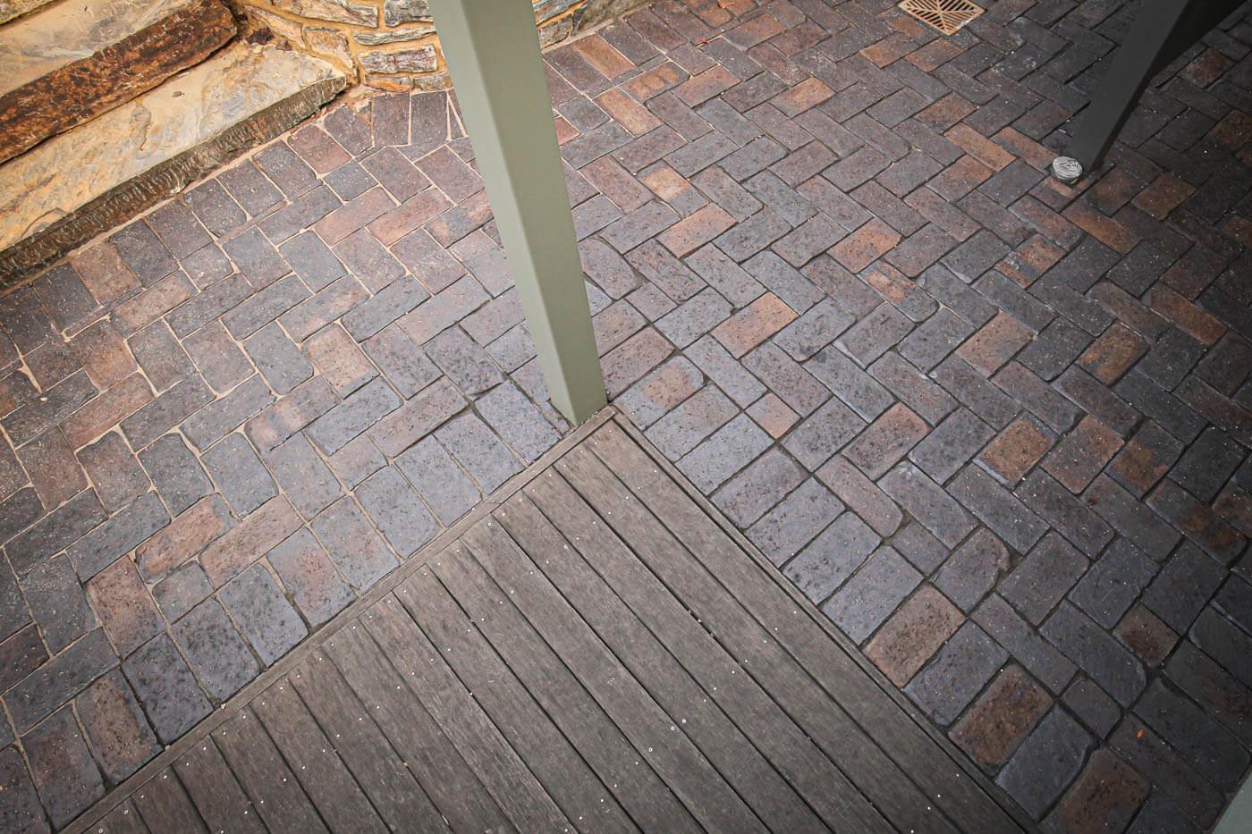 Mahogany Cobblestone Clay Pavers Littlehampton Brick Rs 9