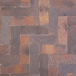 Stardust Paver 76mm X 230mm Cannon Colour Herringbone Pattern Rs 4