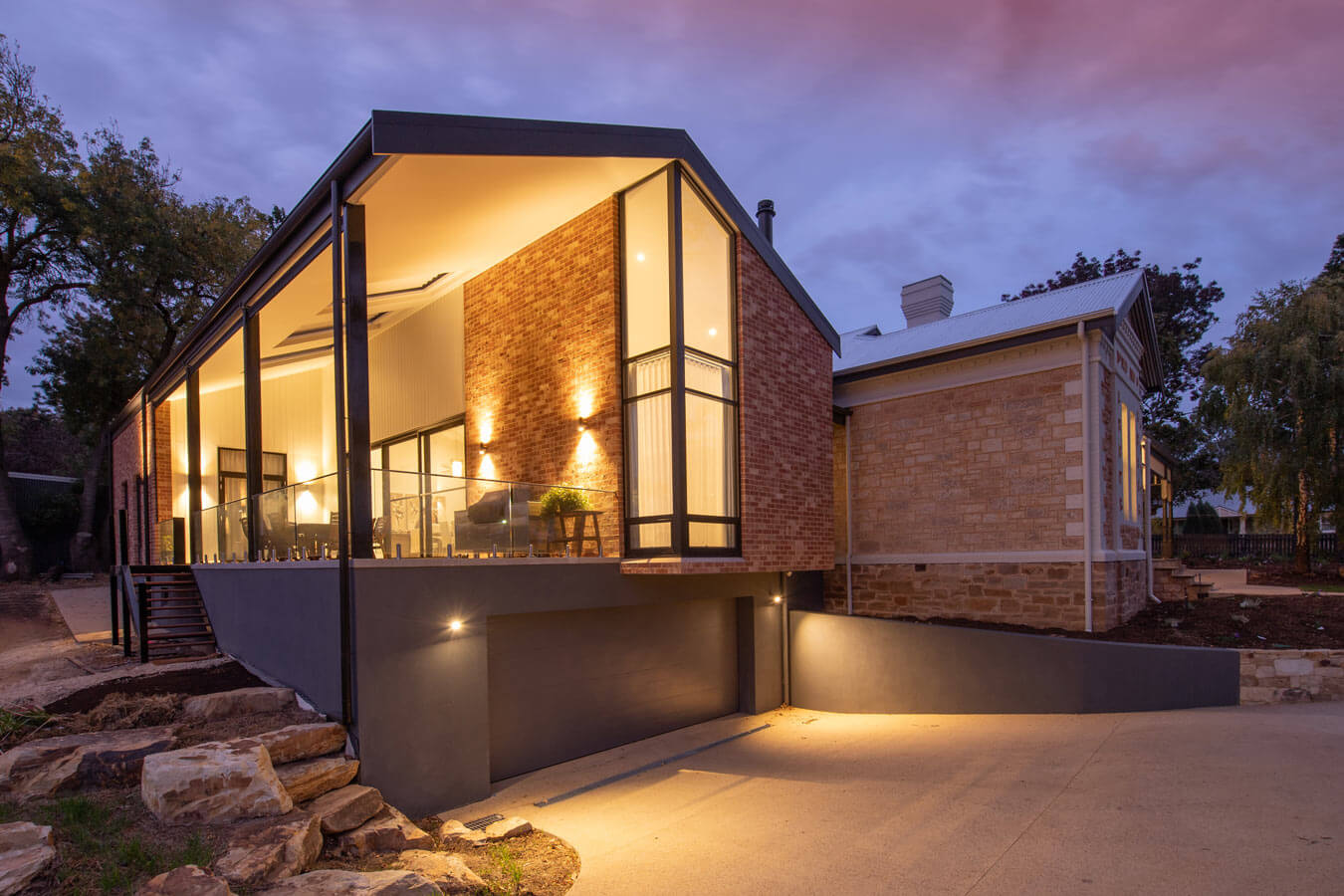 Blush Brick Hahndorf House Rs