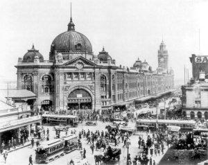 Old Flinders St Station