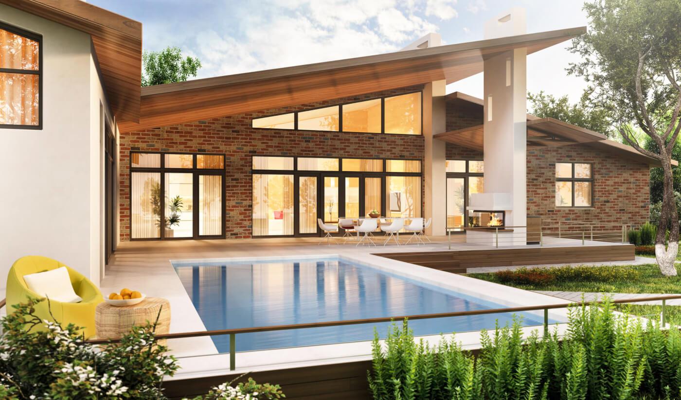 Maclaren Brick Luxury Home