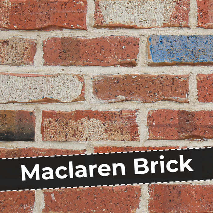 Maclaren Brick - Recycled Brick style - Australian ade