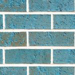 Caspian Light Blue Glazed Brick Wall Rs 1