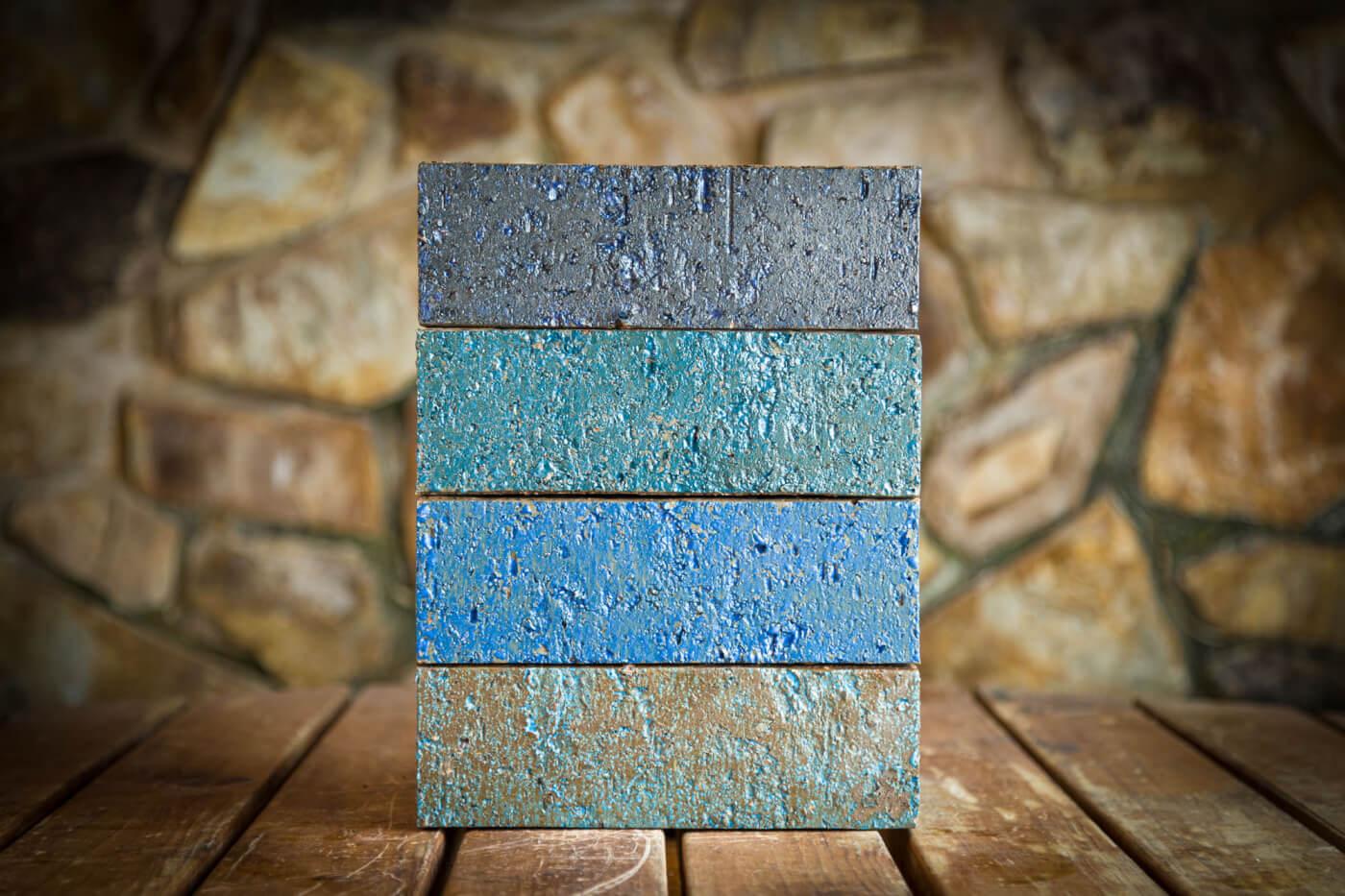Glazed Bricks Littlehampton Blues Blend Rs 19
