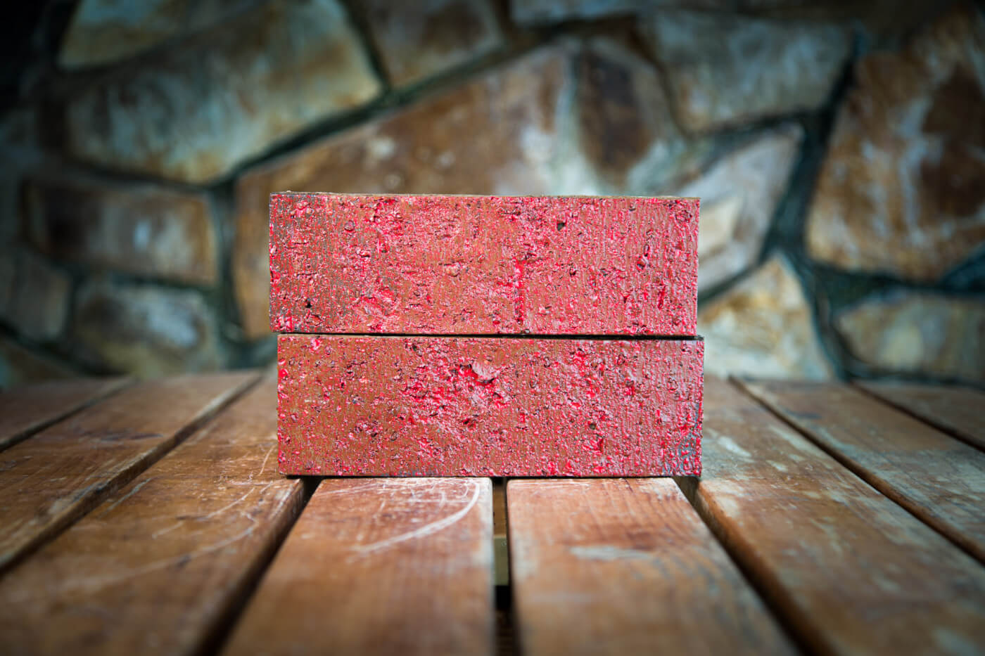 Lava Red Glazed Brick Rs 1 1