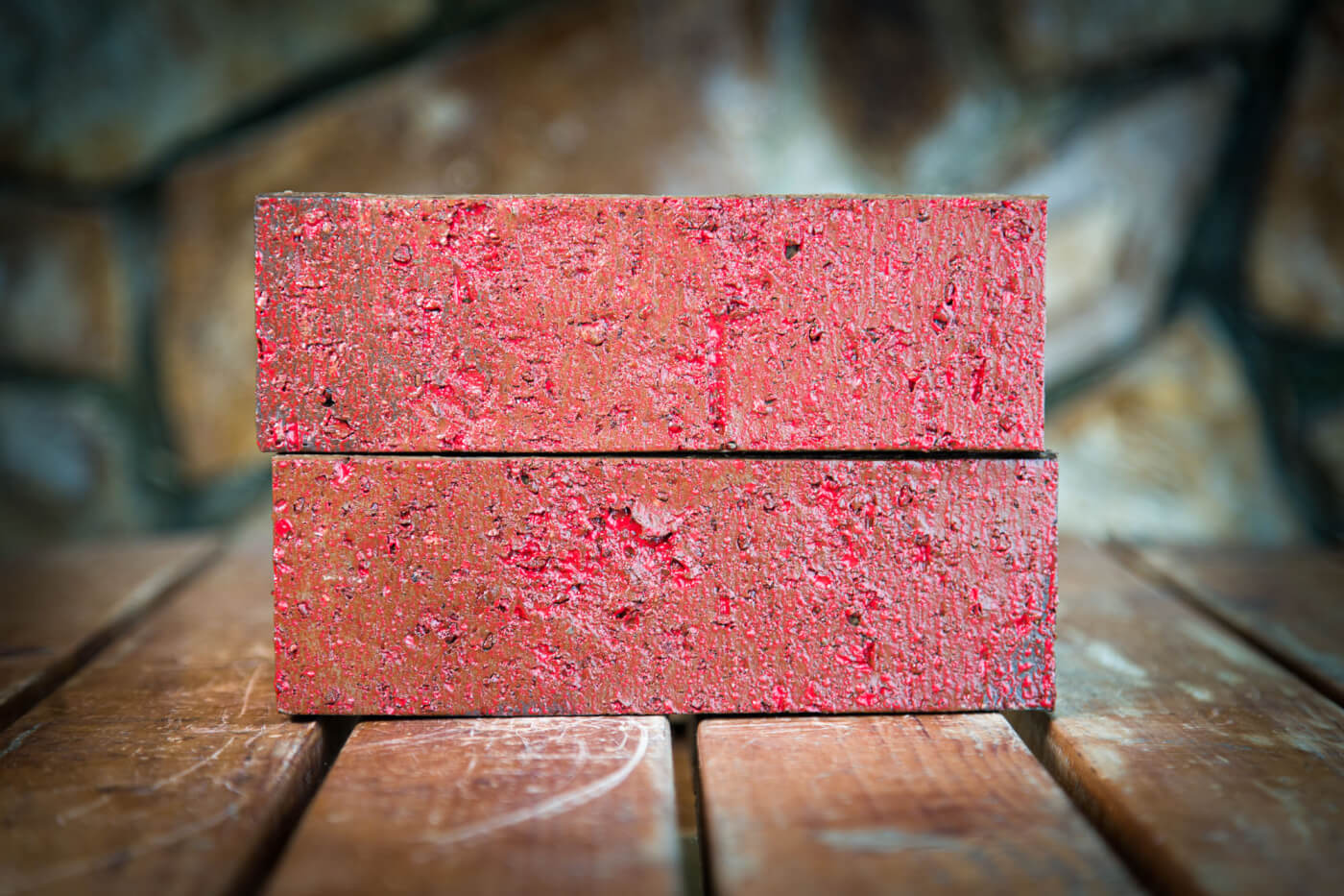 Lava Red Glazed Brick Rs 1 2