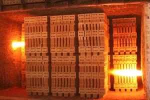 Kiln Firing On Recycled Waste Oil Littlehampton Brick