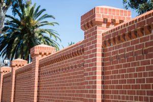 Old Red Sandstock Brick Wall Littlehampton Bricks And Pavers